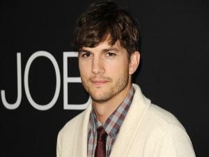 """Ashton Kutcher en la presentación de la película """"Jobs"""""""