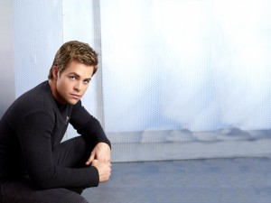 Mirada intensa de Chris Pine