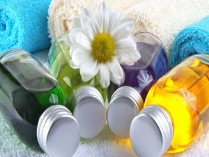 Toallas y aceites para masajes