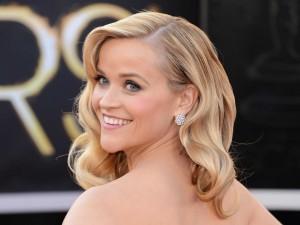 La guapa y sonriente Reese Witherspoon