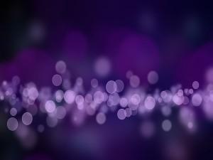 Destellos púrpura