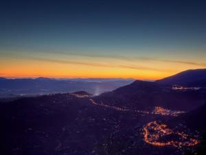 Luces al amanecer