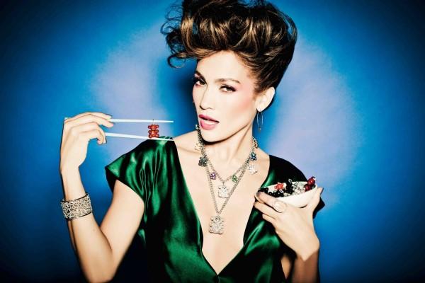 Jennifer Lopez con joyas de Tous