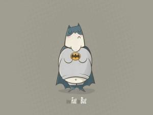 Batman en baja forma