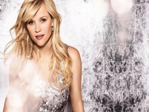 Reese Witherspoon con un vestido de lentejuelas