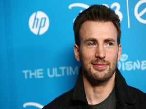 El guapo Chris Evans
