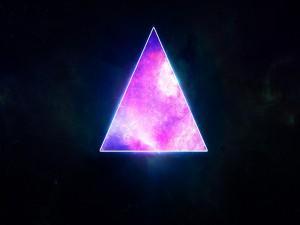El cosmos en un triángulo