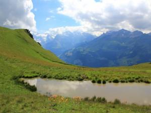 Vistas a unas hermosas montañas