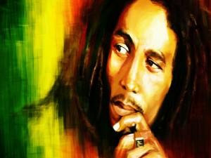 El cantante Bob Marley