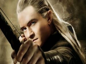 El guapo elfo Legolas (Orlando Bloom)