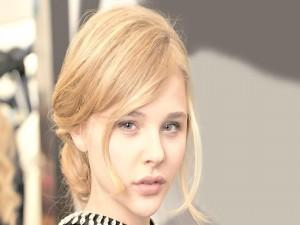 La joven actriz Chloë Moretz
