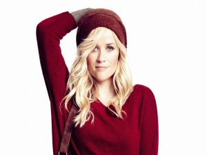 Reese Witherspoon con un bonito conjunto invernal