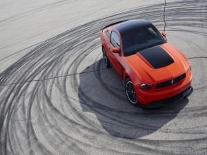 Ford Mustang rojo