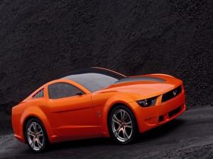 Ford Mustang naranja