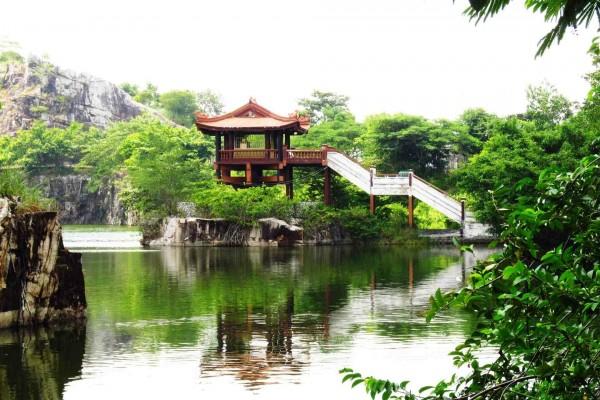 Un bonito mirador sobre el río