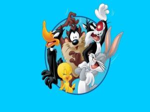 Bugs Bunny, Piolín, el Pato Lucas, Silvestre y Taz