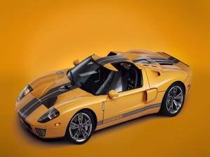 Ford GTX1 naranja