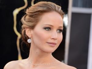 La guapa Jennifer Lawrence en una edición de los premios Oscars