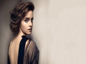 Emma Watson con mirada seductora