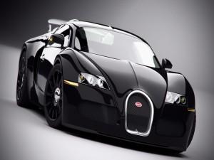 Un Bugatti negro