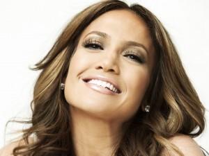 La cara de felicidad de Jennifer Lopez