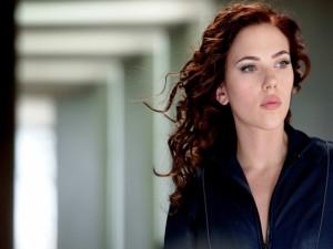 "Scarlett Johansson en ""Iron Man 2"""