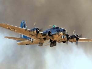 B-17 bombardero de las Fuerzas Aéreas de los Estados Unidos