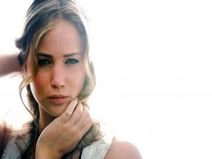 Bonito rostro de Jennifer Lawrence