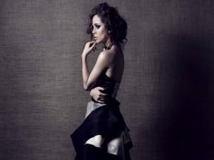 La actriz Eliza Dushku