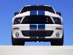 Frontal de un Ford Mustang Shelby GT 500