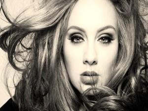 La cantautora Adele