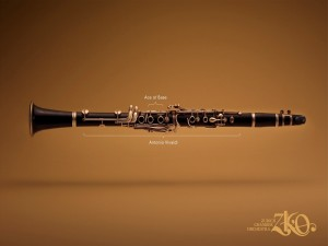 Clarinete de la Zurich Chamber Orchestra