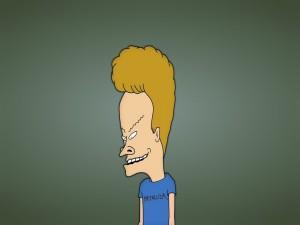 """Beavis personaje de la serie """"Beavis y Butt-head"""""""