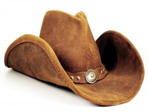 Elegante sombrero de vaquero