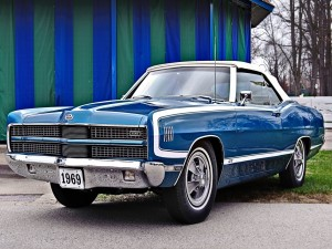Ford Galaxie 500 XL GT 429 Convertible (1969)