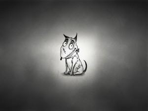 """Sparky, perro de la película """"Frankenweenie"""""""