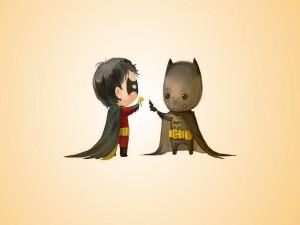 Jóvenes Batman y Robin