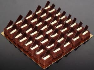 Ricos pasteles de chocolate
