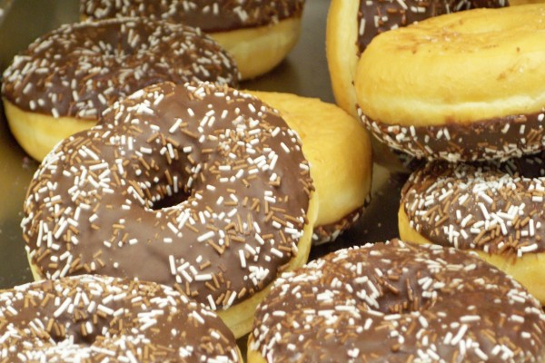 Donuts con chocolate