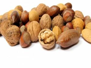 Frutos secos sin pelar