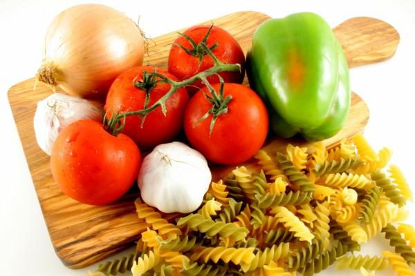 Ingredientes para preparar una rica pasta
