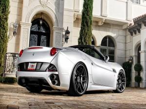 Ferrari California Silver