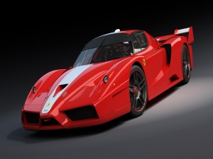Un Ferrari FXX