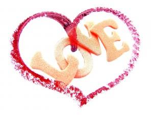 Love dentro de un corazón