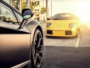 Dos Lamborghini