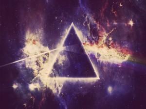 Triángulo en el universo