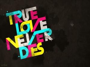El verdadero amor nunca muere