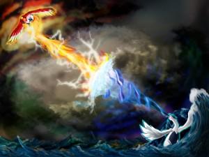 Lugia vs Ho-oh (Pokémon)