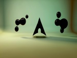 Figuras negras en 3D