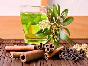 Té verde y especias